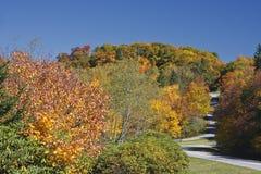 Blue Ridge Parkway Road Stock Image