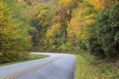 Blue Ridge Parkway Road Stock Photos