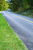 Blue Ridge Parkway Roadway Royalty Free Stock Images