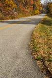 Blue Ridge Parkway Roadway in Northern Virginia, USA Stock Image