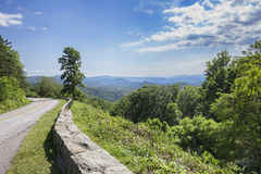 Blue Ridge Parkway Royalty Free Stock Images
