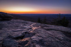 Blue Ridge Parkway Sunrise 5 stock photo