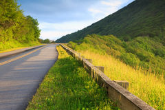 Blue Ridge Parkway Travel North Carolina Royalty Free Stock Photo