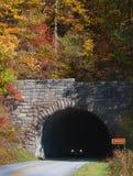 Blue Ridge Parkway Tunnel Entrance In North Carolina Stock Image