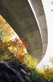 Blue Ridge Parkway Viaduct. The Blue Ridge Parkway Viaduct from below Stock Photos