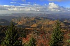 Blue Ridge Parkway Vista royalty free stock photography