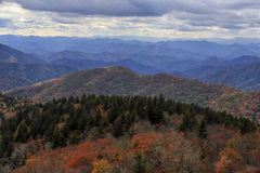 Blue Ridge Parkway Vista Royalty Free Stock Images