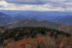 Blue Ridge Parkway Vista royalty free stock images