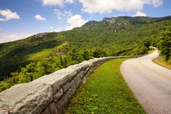 Blue Ridge Parkway Western North Carolina Royalty Free Stock Photography