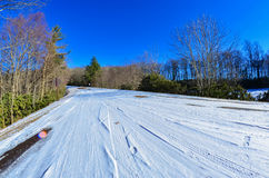 Blue ridge parkway winter scenes Royalty Free Stock Image