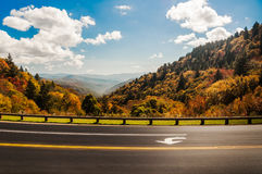 Blue Ridge vista,in autumn. Royalty Free Stock Photo