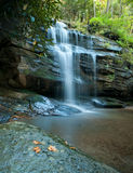 Blue Ridge Waterfall Royalty Free Stock Image