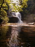 Blue Ridge Waterfall Royalty Free Stock Photos