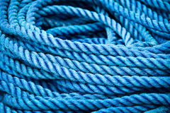 Blue rigging abstract Royalty Free Stock Photo