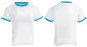 Blue Ringer T-Shirt Royalty Free Stock Photos