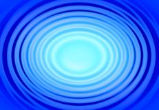 Blue rings. Illustration of blue water rings Royalty Free Stock Images
