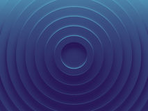 Blue rings. Abstract geometric background. Works for text and website background, print and mobile application Stock Images