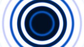 Blue rings stock video