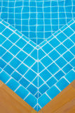 Blue ripped water. In swimming pool Royalty Free Stock Image