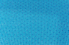 Blue ripped water in swimming pool Stock Images