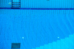 Blue ripped water in swimming pool Stock Photography