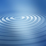 Blue ripple. Beautiful blue water ripple background Royalty Free Stock Photos