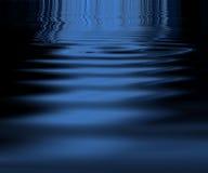 Blue ripple pattern Stock Photo