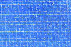 Blue ripple water in swimming pool. Texture background Stock Photos