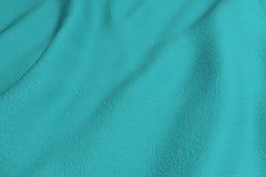 Blue rippled fabric Stock Photos