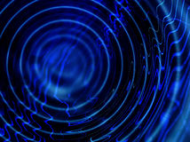 Blue ripples vector illustration