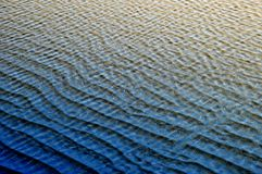 Blue ripples Royalty Free Stock Photography