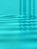 Blue ripples Royalty Free Stock Photos