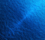 Blue ripples water texture Royalty Free Stock Photo
