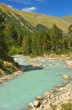 Blue river Stock Photography