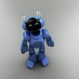 Blue Robot Stock Photo