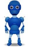 1 blue robot Zdjęcie Royalty Free