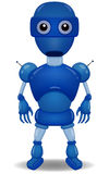 Blue robot Royalty Free Stock Photo