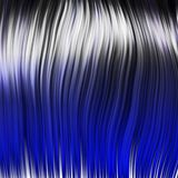 Blue rock wig Royalty Free Stock Image
