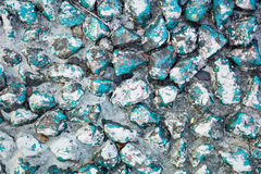 Blue Rocks in India. Background Stock Photo