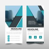 Blue roll up business brochure flyer banner design ,. Cover presentation abstract geometric background, modern publication x-banner and flag-banner, layout in royalty free illustration
