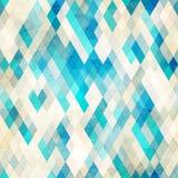 Blue romb grunge seamless Royalty Free Stock Photo