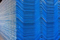 The blue roof tiles Royalty Free Stock Photography
