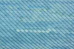 Blue roof tiles Stock Photo