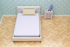 ' blue room ' ilustracja wektor