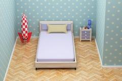 ' blue room ' Zdjęcia Stock