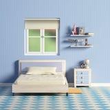' blue room ' ilustracji