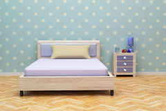 Blue room Stock Image