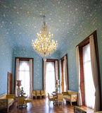 Blue Room in the Vorontsov Palace. Crimea. Ukraine royalty free stock photography