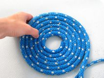 Blue rope Stock Photos