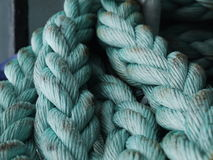 Blue rope Royalty Free Stock Photo